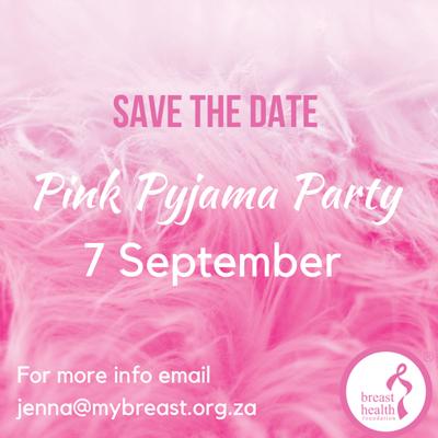 bhf Pink Pyjama Party